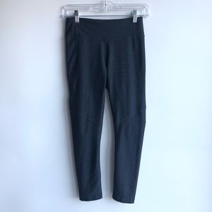 OUTDOOR VOICES Warm Up 3/4 Charcoal Grey Leggings